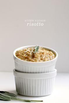 acorn squash risotto
