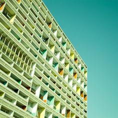 houses, le corbusier, colors, corbusi hous, art, matthia heiderich, germany, berlin, architecture