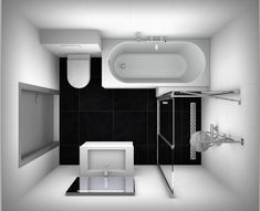 Badkamer en wc on pinterest toilets vans and met - Doucheruimte m ...