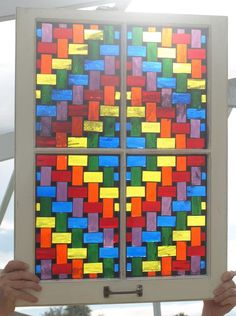 The Rainbow Weaver - Delphi Stained Glass - by ARTful Salvage