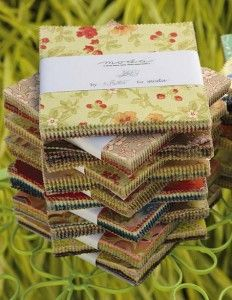 Patterns for charm squares & fabric trade tips