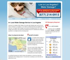 Call Toll FREE: (877) 214-0915 24/7 Emergency Water Damage and Flood Cleanup Services Now Available in Los Angeles, California