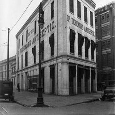 Dr Tichenor's Bldg~ located where Harrah's is today