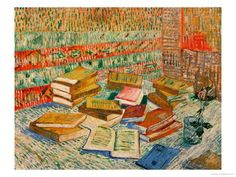 "Vincent Van Gough ""The Yellow Books"" 1887"