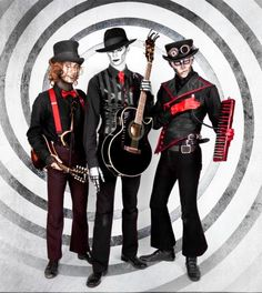 Steam Powered Giraffe   Hatchworth's great, but i miss the Jon...