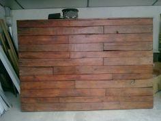 Cabecero madera de Palet