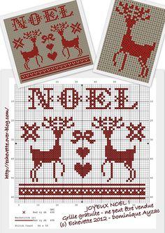 *Noel deer freebie*