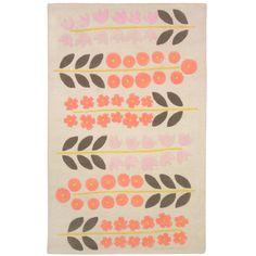 DwellStudio Kids Rug Rosette Blossom
