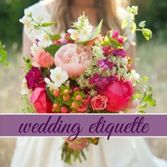 The Most Asked Wedding Etiquette Questions: Part I {Before the I Do's Wedding Blog}