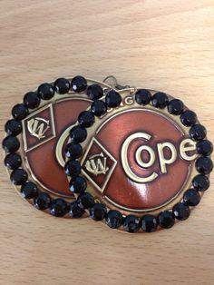 Who ever thought Copenhagen Lids = Earrings??
