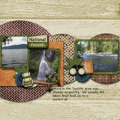 Cache Me Camping Page Kit
