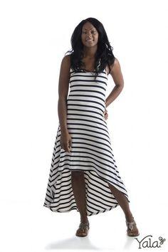 Bamboo Hi-Low Dress