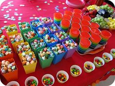 Color themed birthday party