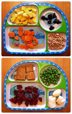 This is what I've been looking for. Validation that feeding my son whole foods is normal. Daycare wants to feed him chicken rings, french fries and ham slices. We want him to eat peas and cantaloupe and quinoa... He likes real food and that's what he deserves! » Vegan Toddler Meals #12