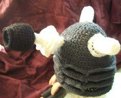 Thistle Rose Studio: Dalek Hat! #Crochet #FreePattern: http://www.thistlerosestudio.com/2013/02/dalek-hat.html #TheCrochetLounge #DrWho #crochet #Collection