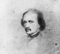 Edgar Allan Poe Self-portrait