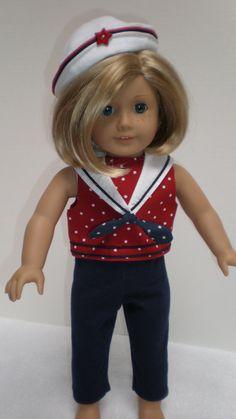 NAVY LEGGINGS American Girl 18 inch doll