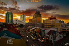 Sunset Johor Bahru, Malaysia