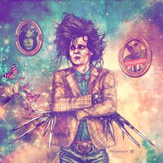 Edward Scissorhands by fab ciraolo