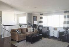 living room design split level  Keep Home Simple: Our Split Level Fixer Upper | decorating ideas ...