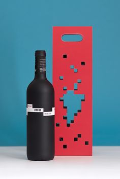 Error Wine (Student Project) on Packaging of the World PD
