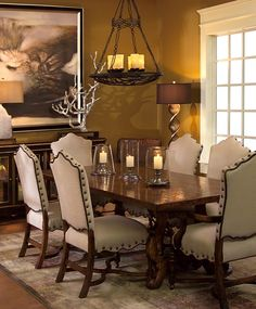 tuscan+decorating+style+family+rooms | Tuscan Dining Room Furniture Colorado Style