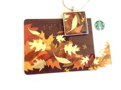 Recycled Starbucks jewelry