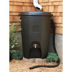 Moby Rain Barrel - 65 Gallon