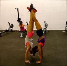 Sweet handstand! #trust