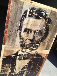 Abraham Lincoln Pallet Coffee Table made from by RustedCreek
