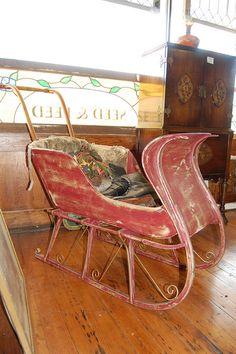Antique Children's Sleigh