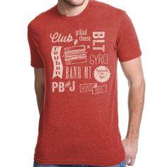SANDWICH COLLAGE #tshirt by Jeff Mauro $30