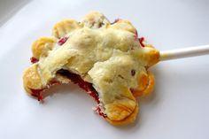 Blueberry pie…on a stick