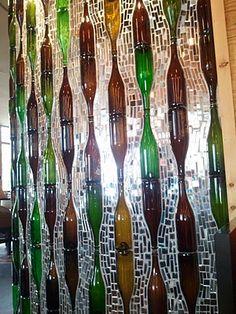 Great Glass Bottle Wall