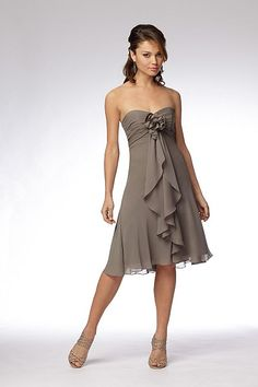 Wtoo Maids Dress 919  Chiffon dress #2dayslook #Chiffondress #sunayildirim #anoukblokker #jamesfaith712    www.2dayslook.com