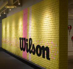 Wilson Tennis Ball Wall