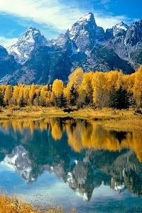 Grand Teton National Park , Rocky Mountains, Northwest Wyoming:
