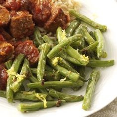 Lemon-Garlic Green Beans Recipe -   This recipe is:       Healthy       Quick       Diabetic Friendly