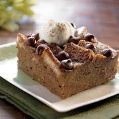 irish cream recipe, chocolates, bread yummi, breads, bread pudding recipes, shamrock bread, bread puddings, whipped cream, chocol shamrock