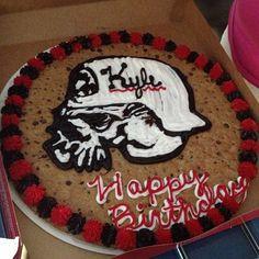 Metal Mulisha birthday cookie cake