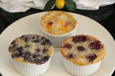 The Simple Skillet | Individual Berry Cobblers