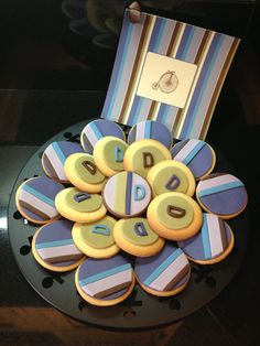 Cookies for baptism! cooki, baptism idea