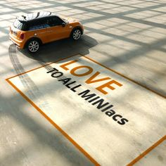 Ask - in the name of love. The New MINI is calling for your questions. #asktheNEWMINI