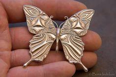 Butterfly in Silver