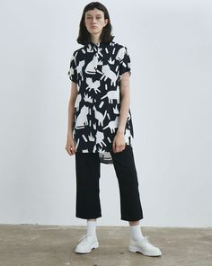 Lazy Oaf Mono Cat Sh