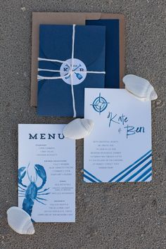 beach inspired blues // photo by Erin Kate Photography