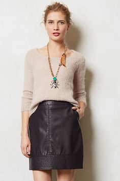 Vegan Leather Mini #anthropologie