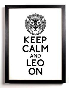 Leo on....