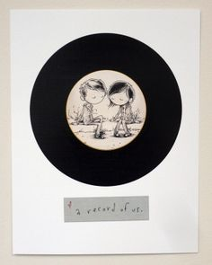 "Kurt Halsey ""Record"" Print   Art Star"