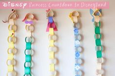 Disneyland Countdown with the Disney Princesses! How cute! princesses countdown calendar to disney vacation Let the Countdown Begin!